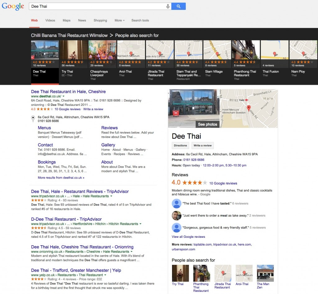 Google Carousel is now Appearing in the UK
